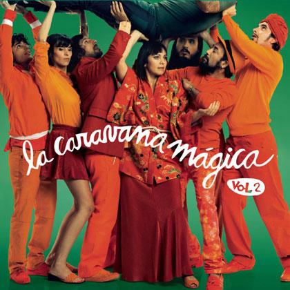 Portada del disco «La Caravana Mágica Vol. 2» de Gustavo Cordera.