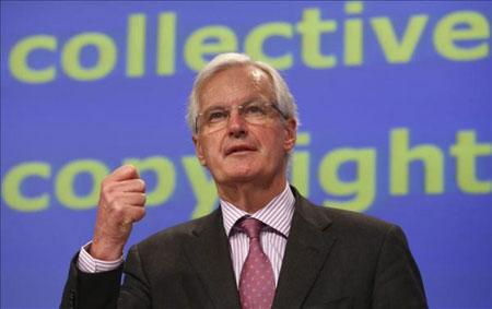 El comisario europeo de Mercado Interior, Michel Barnier. © EFE