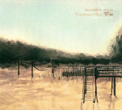 Portada del disco «Corriente abajo» de Vamoarriba.