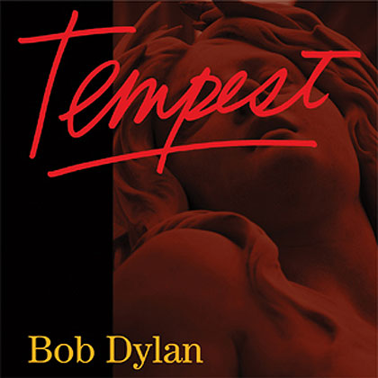 Portada del disco «Tempest» de Bob Dylan.