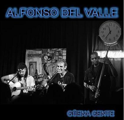 Portada del disco «Güena gente» de Alfonso del Valle.