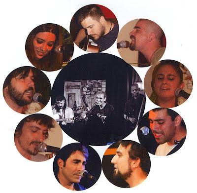 Colaboradores del disco «Güena gente» de Alfonso del Valle.