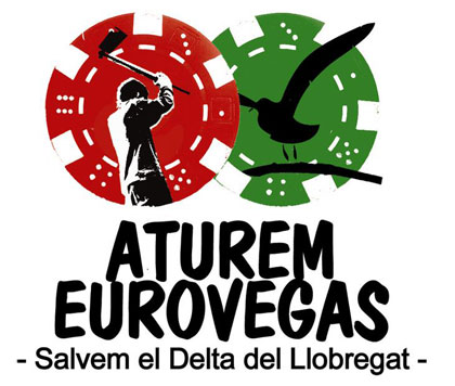 Cartel «Aturem Eurovegas»