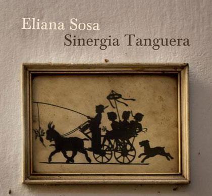 Portada del disco «Sinergia tanguera» de Eliana Sosa.