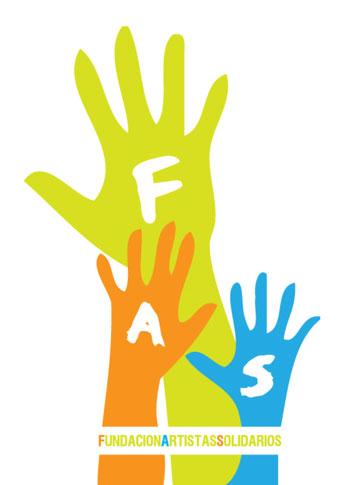 Logo de la Fundación Artistas Solidarios (FAS)