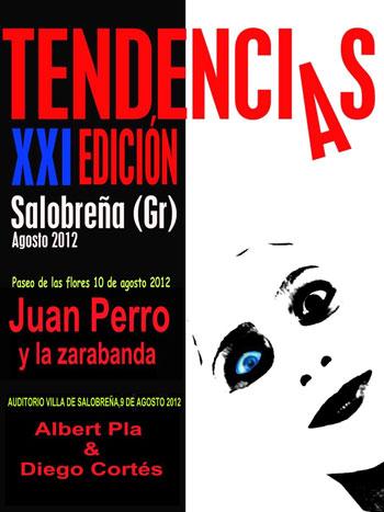Cartel del XXI Festival Tendencias 2012