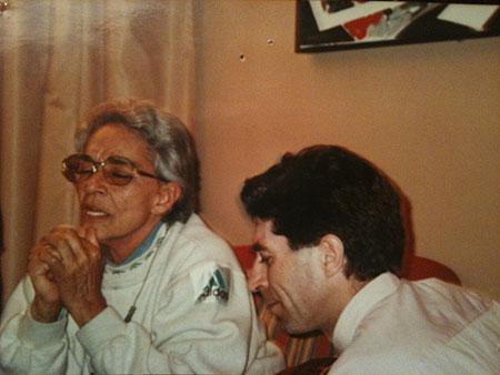 Chavela Vargas con Joaquín Sabina © Pancho Varona