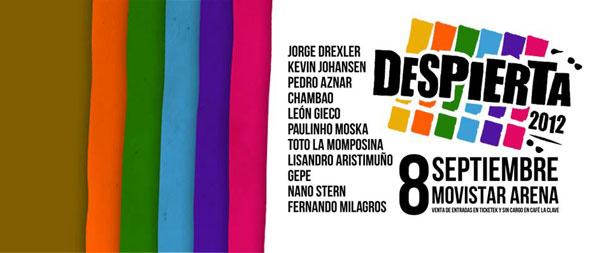 Cartel del Festival Despierta! 2012