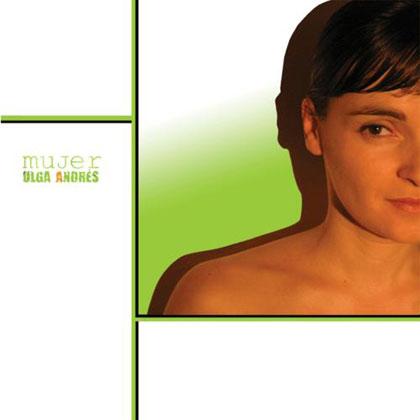 Porta del disco «Mujer» de Olga Andrés.