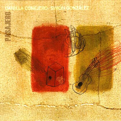 Portada del disco «Pasajero» de Daniela Conejero y Simón González.
