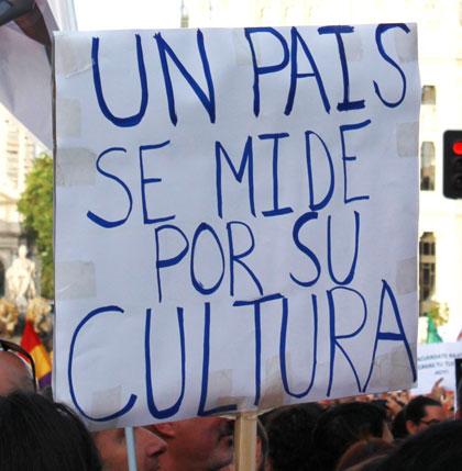 «Un país se mide por su cultura»