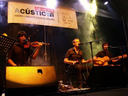 Gertrudis canta a Josep Vicenç Foix. © Festival Acústica