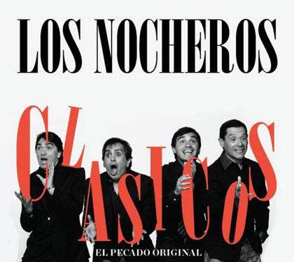 Portada del disco «Clásicos. El pecado original» de Los Nocheros.