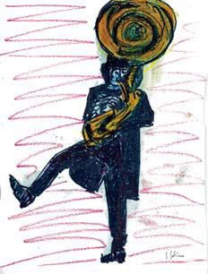 Ilustración de Joaquín Sabina para el libro «Más de cien verdades».