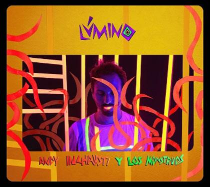 Portada del disco «Lúmino» de Andy Inchausti.