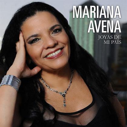 Portada del disco «Joyas de mi país» de Mariana Avena.