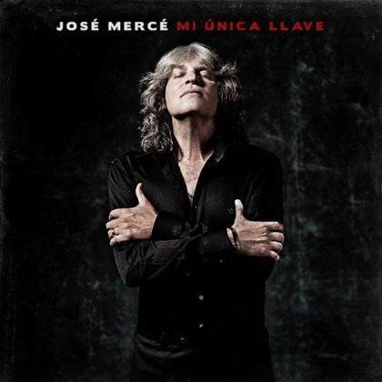 Portada del disco «Mi única llave» de José Mercé.