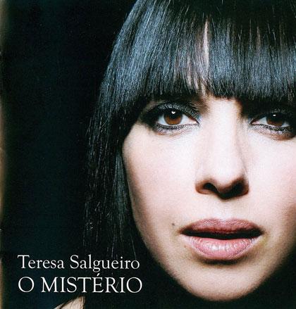 Portada del disco «O Misterio» de Teresa Salgueiro.
