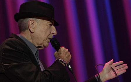 Leonard Cohen en Barcelona. © EFE