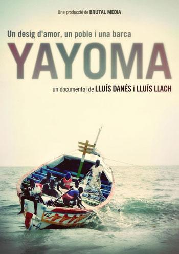 Cartel del cocumental «Yayoma» de Lluís Danés y Lluís Llach.