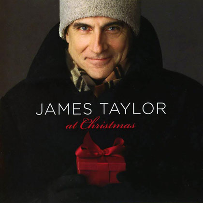 Portada del disco «At Christmas» de James Taylor.