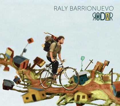 Portada del disco «Rodar» de Raly Barrionuevo.