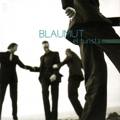 Portada del disco «El turista» de Blaumut.