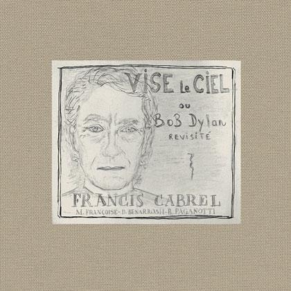 Portada del disco «Vise le ciel» de Francis Cabrel.