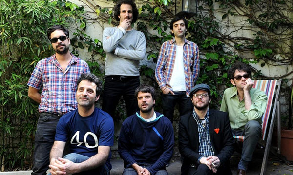 Pablo Dacal, Nacho Rodríguez, Alfonso Barbieri, Pablo Grinjot, Tomi Lebrero, Lucio Mantel y Alvy Singer.