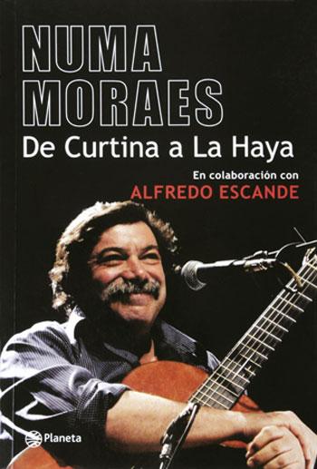 Portada del libro «De Curtina a La Haya» de Héctor Numa Moraes.