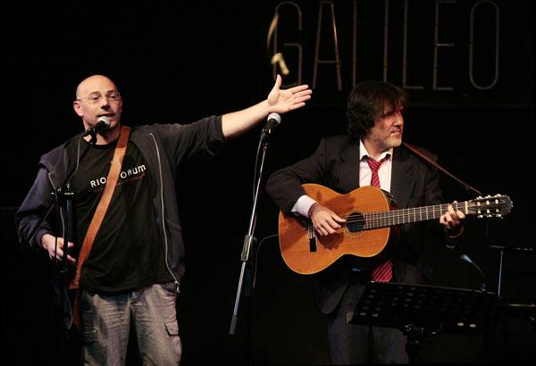 Luis Felipe Barrio y Matías Ávalos © Juan Miguel Morales