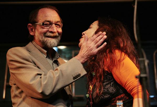 Esmeralda Grao con Pablo Guerrero © Juan Miguel Morales