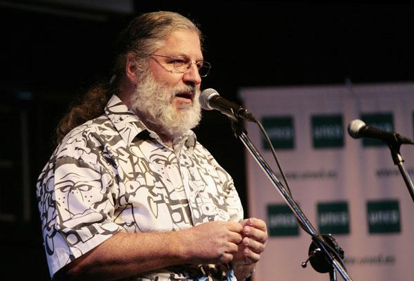 José Miguel López, director y presentador de «Discópolis» de Radio 3. © Juan Miguel Morales