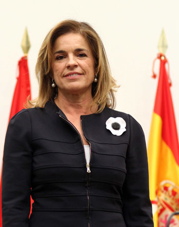 Ana Botella, alcaldesa de Madrid. © Ayuntamiento de Madrid