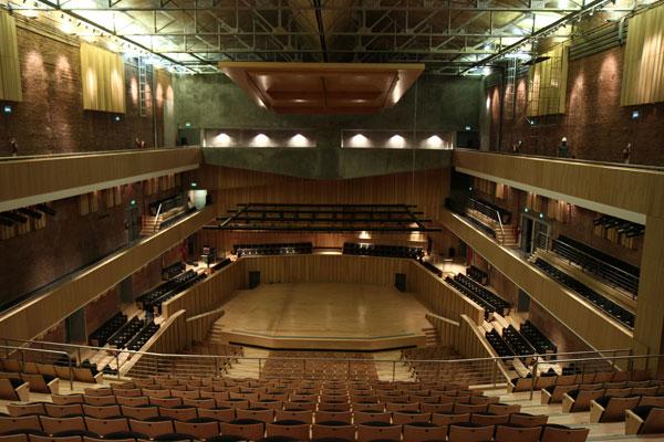 Sala Filarmónica de la Usina del Arte © Gobierno de la Ciudad de Buenos Aires
