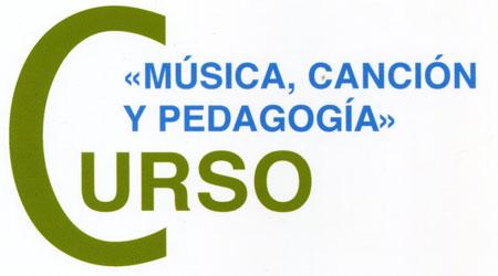 Logo del curso «Música, Canción y Pedagogía»