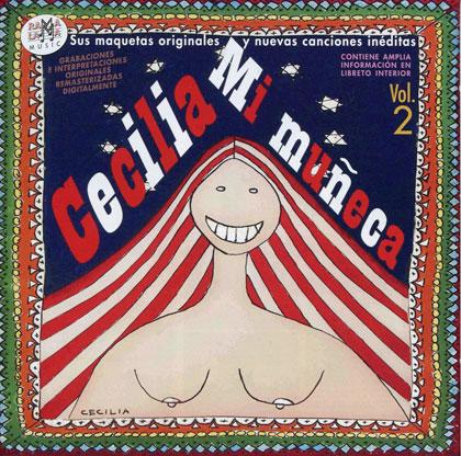 Portad del disco «Mi muñeca» de Cecilia.