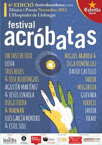 Cartel del VI Festival Acróbatas 2012