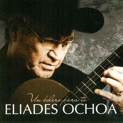 Portada del disco «Un bolero para ti» de Eliades Ochoa.