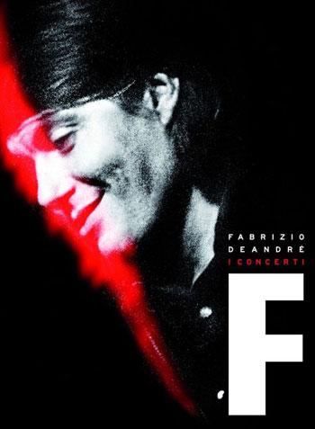 Portada del libro-CD «I Concerti» de Fabrizio De Andrè.