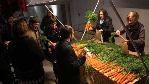 «Zanahorias como alimento de la cultura»