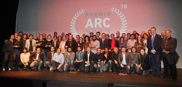 Foto de los premiados ARC 2012 © ARC