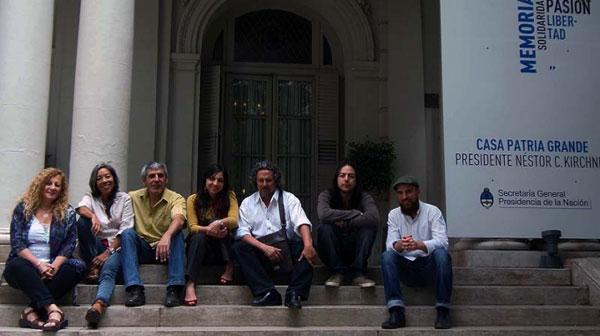 Algunos de los participantes en el Americanto 2012 de Mendoza