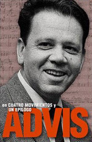 Portada del libro «Advis en Cuatro Movimientos y Un Epílogo» de Desiderio Arenas.