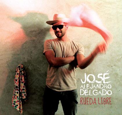 Portada del disco «Rueda libre» de José Alejandro Delgado.
