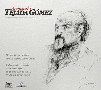 Portada del disco «Armando Tejada Gómez»