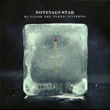 Portada del disco «El calor del pleno invierno» de No Te Va Gustar.