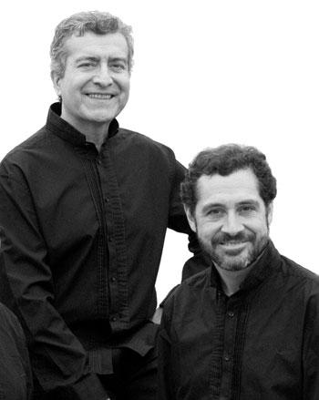 Rodolfo Parada y Patricio Wang.