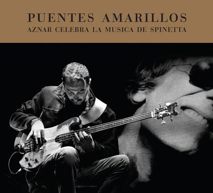 Portada del disco «Puentes amarillos» de Pedro Aznar.