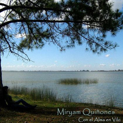 Portada del disco «Con el alma en vilo» de Miryam Quiñones.